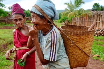 Kayar women after field work