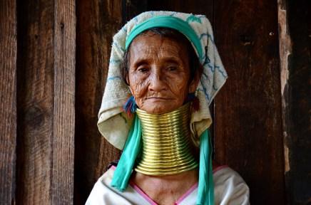Kayan elder woman - 80 years old