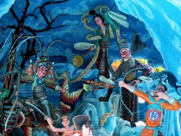 Deities in the sea