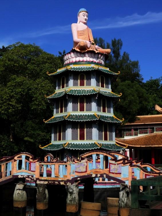 Buddha on Pagoda