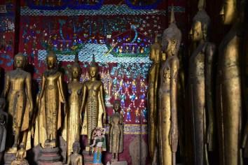 Buddhas at Wat Xieng Tong