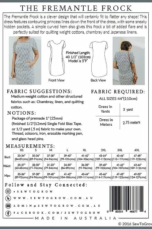 frock pattern easy sewing patterns