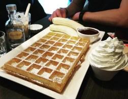 Lizzie's Waffles - oh sweet joy!