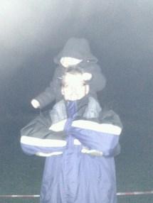 Tadpole's hood kept slipping down over his eyes!