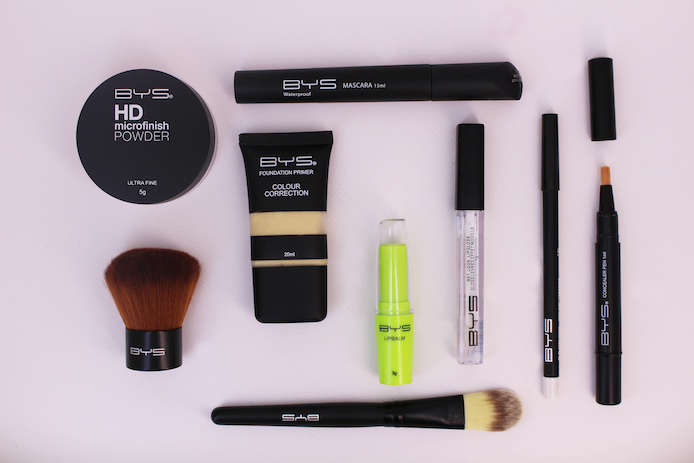 Maquillage BYS maintenant en vente en France.