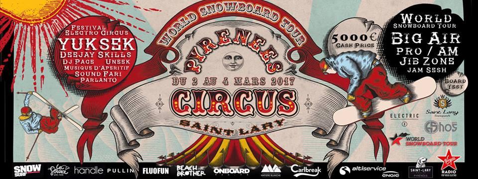 Pyrénées Circus Mars St-Lary
