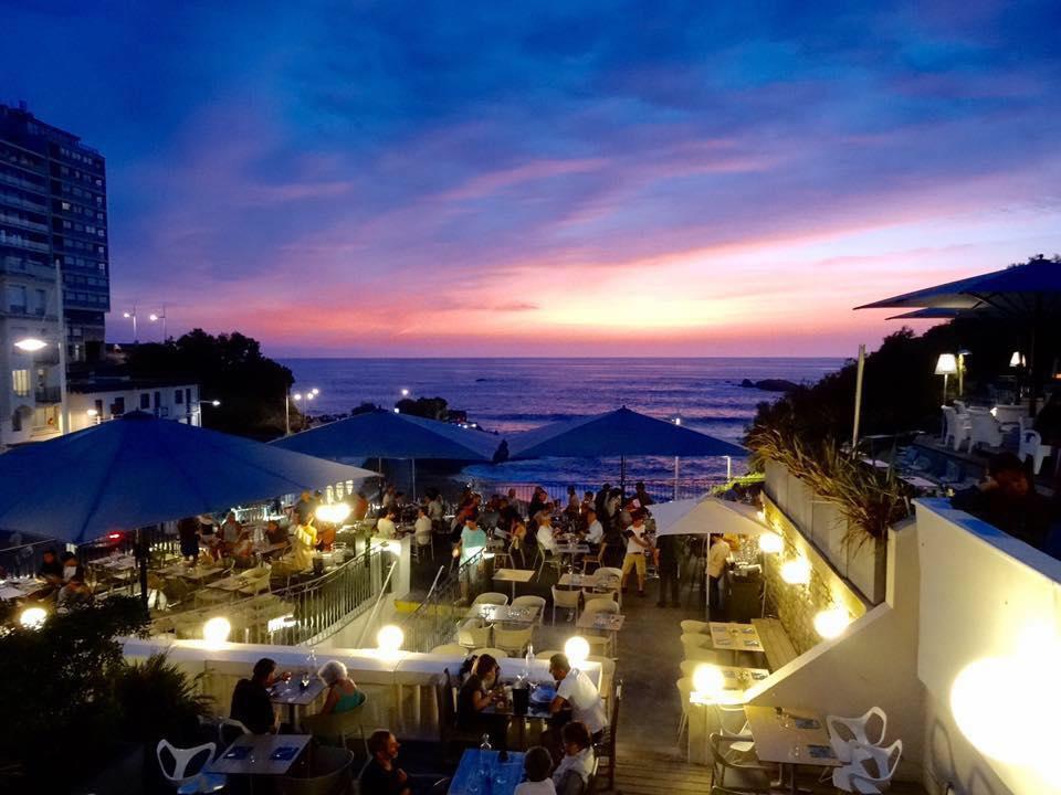 restaurant bar les Baingeuses à Biarritz