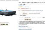 Amazon Deal on Intex Pool - 2500 dollars