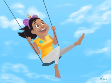 Elisa Swinging