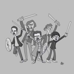 Goldbergs Highlander Crew