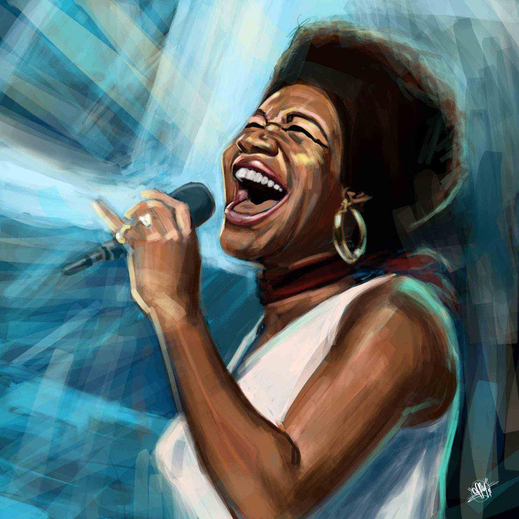 Aretha Franklin Still Sings