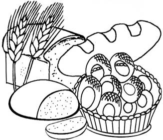 Grain Food Group Coloring Pages
