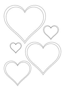 Herz Vorlage Klein Zum Ausdrucken : vorlage, klein, ausdrucken, Vorlage, Kostenlos, Besten, Bilder, Ausmalbilder