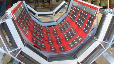 K-Flexal Elastic Conveyor Belt Support System