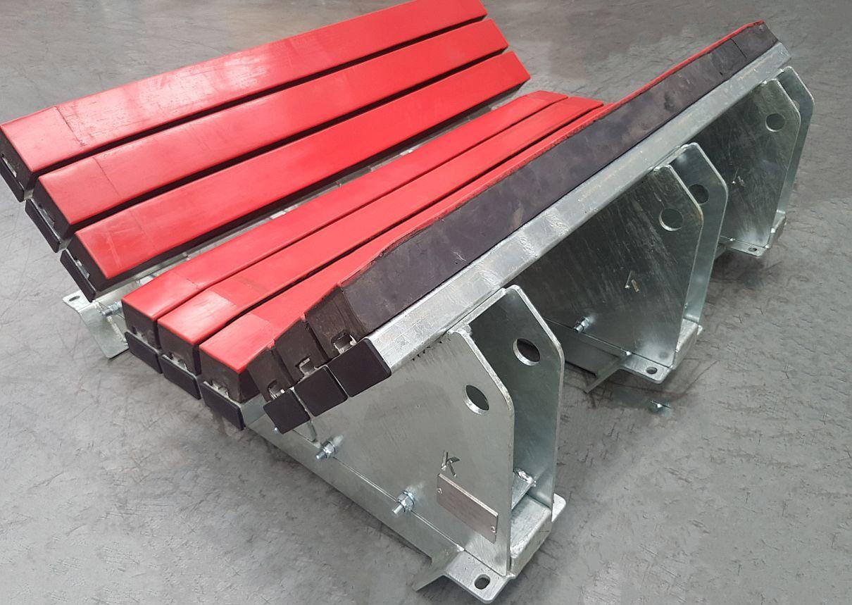 Conveyor Impact Belt Support System