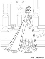 Elsa Die Eiskonigin Ausmalbilder