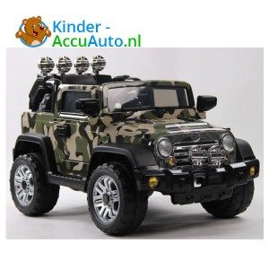 Army Jeep Camoflage kinderauto 1