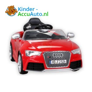 Audi RS5 Kinderauto Rood 1