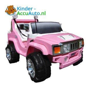 Jeep Kinderauto 2 Persoons Roze 1