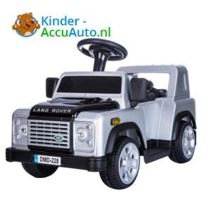 Land Rover Defender 110 Kinderauto Grijs 1