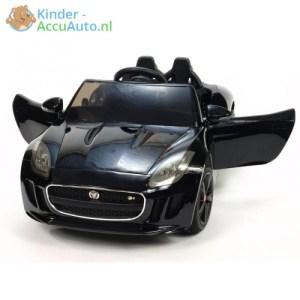 Jaguar F type kinder accu auto zwart kinderauto 1