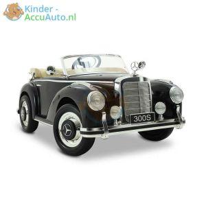 Mercedes 300S oldtimer kinderauto zwart 16 1
