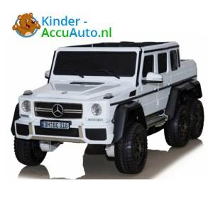 Mercedes G63 6x6 Wit 1