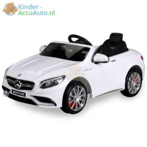 Kinder Accu Auto mercedes S63 amg wit 21