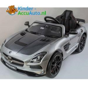 Mercedes SLS Zilver Kinderauto 1