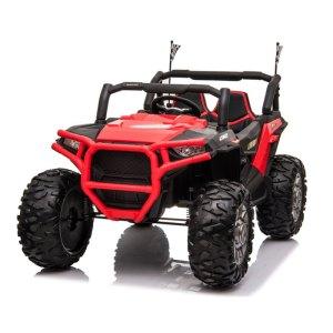 beach buggy elektrische kinderauto rood 1