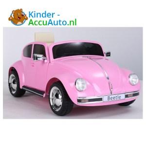 VW Beetle Roze Kinderauto 1