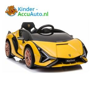 Lamborghini SIAN Geel Kinderauto 1