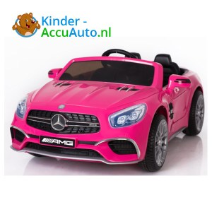 Mercedes SL65 Roze Kinderauto 1