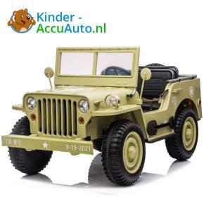 Jeep Desert Fox Beige Kinderauto 4WD 1