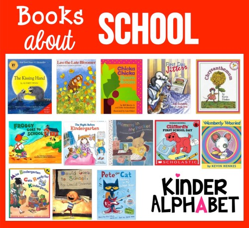 Books about School for Kindergarten