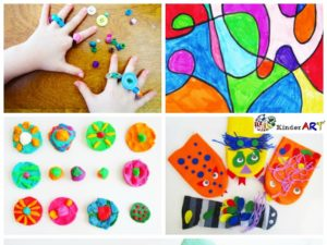 crafts for kids kinderart