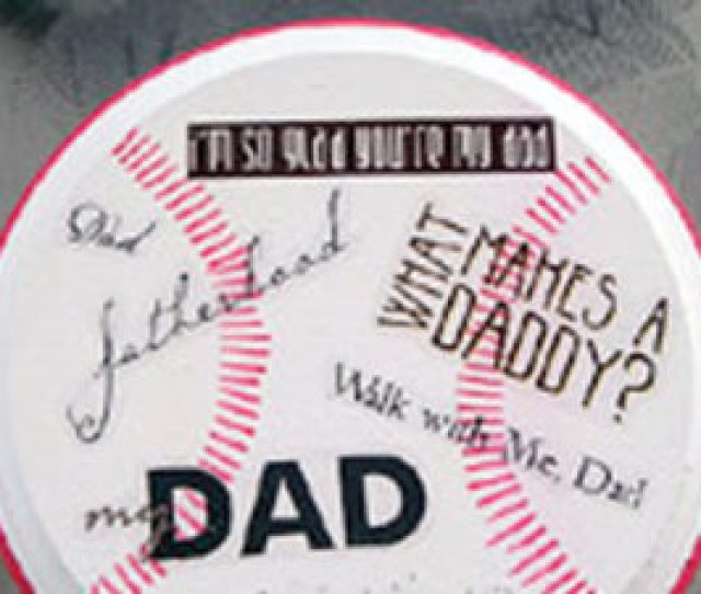 Fathers Day Crafts Baseball Plaque