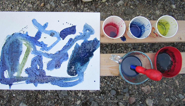Make Your Own Prehistoric Cave Paint Kinderart