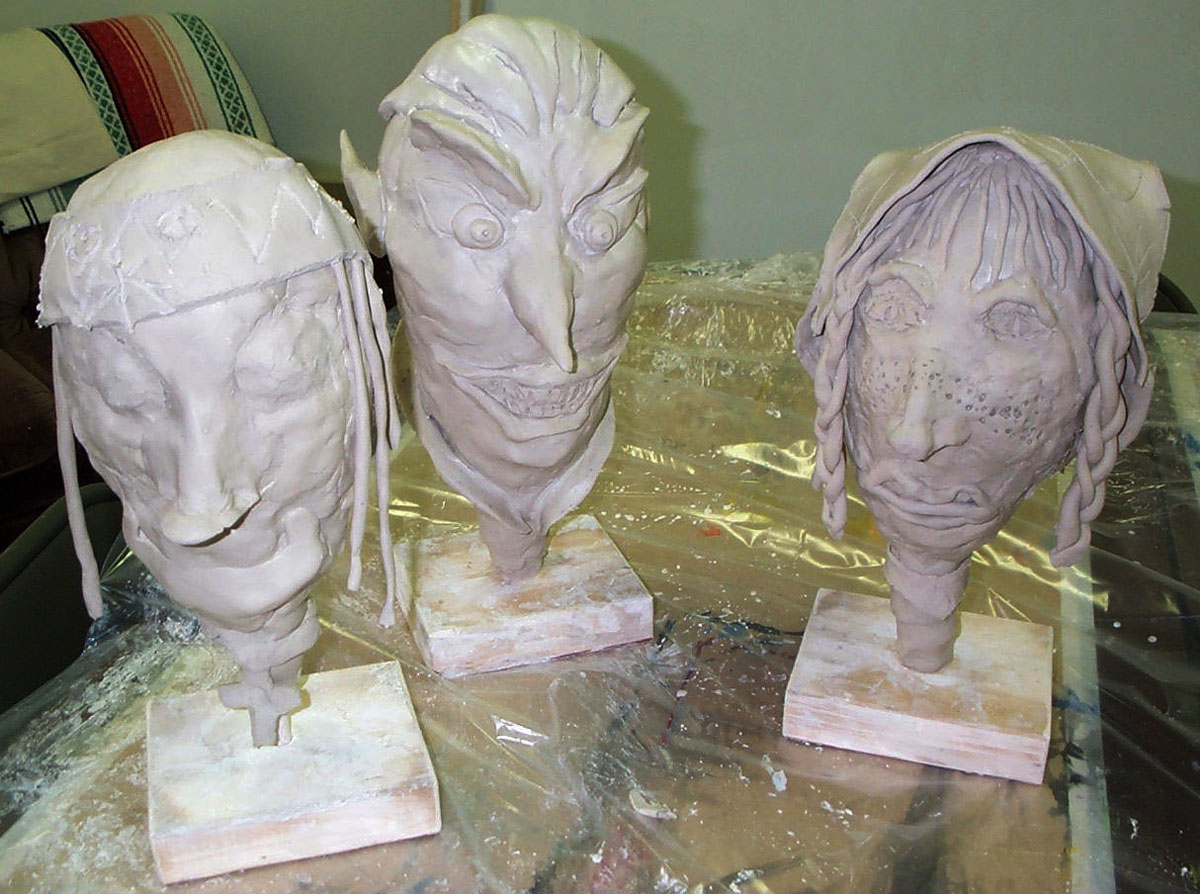 No Fire Clay Heads Lesson Plan Sculpture Activities And