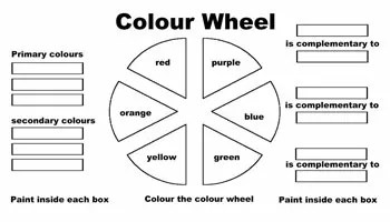 Color Wheel Printable