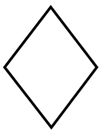 Diamond Coloring Pages : diamond, coloring, pages, Diamond, Coloring, KinderArt