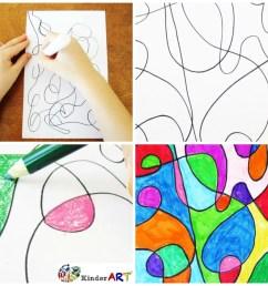 5 Creative Activities for Kids — KinderArt [ 1000 x 1000 Pixel ]