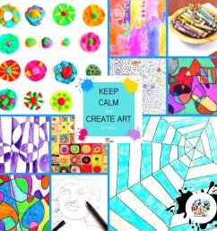 Teaching Art at Home — KinderArt [ 1080 x 1080 Pixel ]