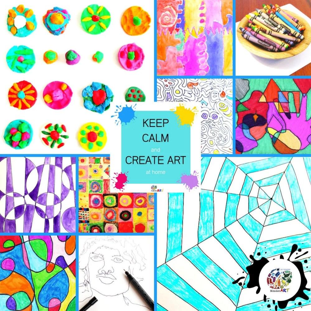 medium resolution of Teaching Art at Home — KinderArt