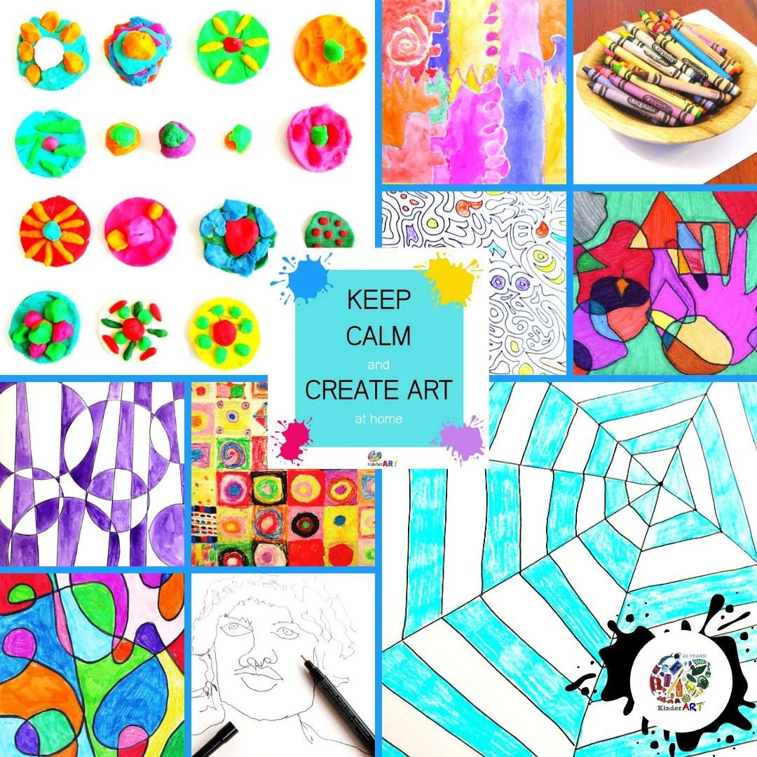 hight resolution of Teaching Art at Home — KinderArt