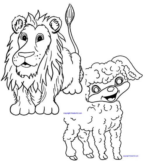 In Like a Lion, Out Like a Lamb KinderArt Littles