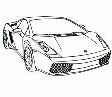 Ausmalbild Rennauto   Malvorlage Auto, Ausmalbilder Zum ...