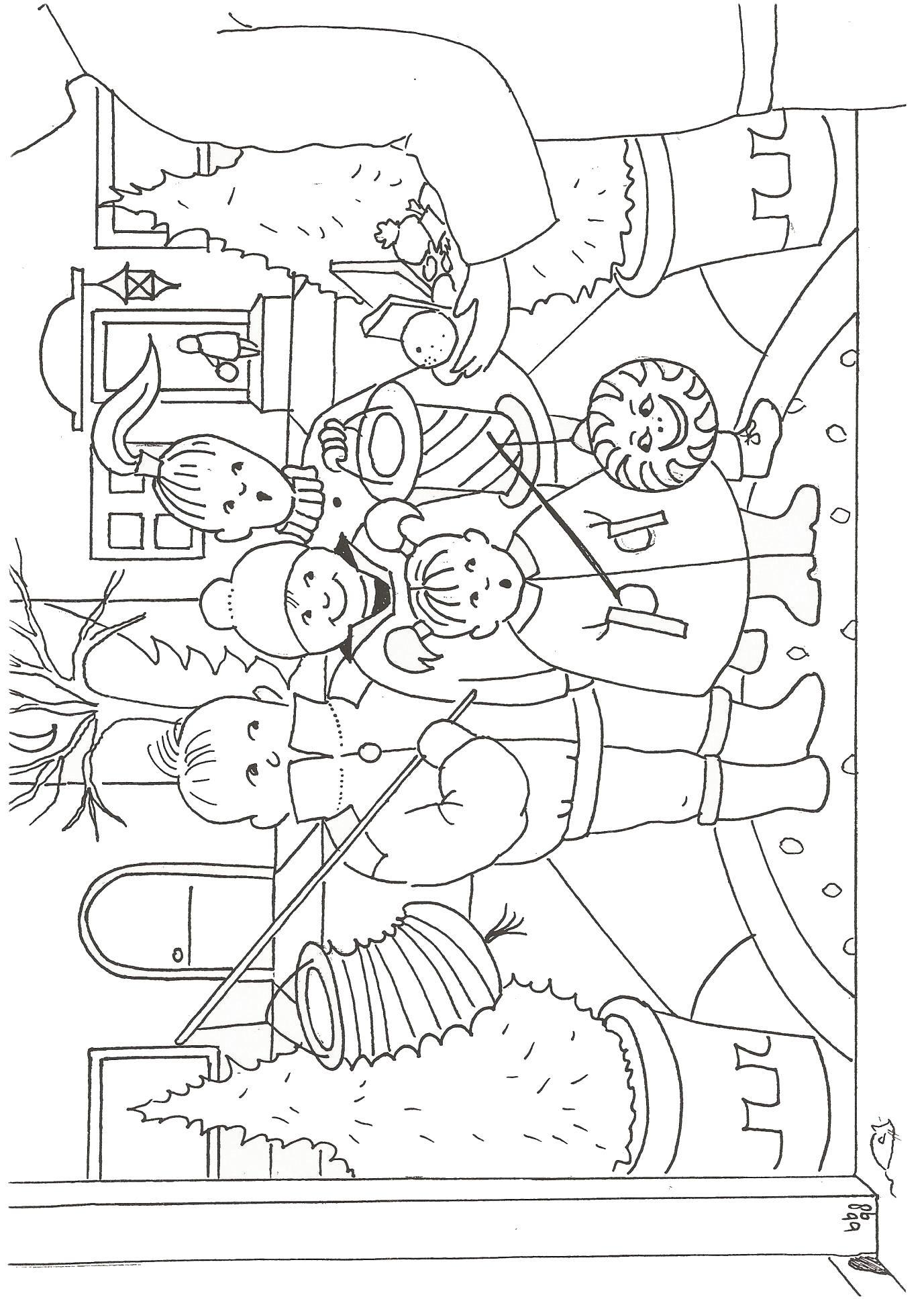 Ausmalbild Laterne - kinderbilderdownload kinderbilder