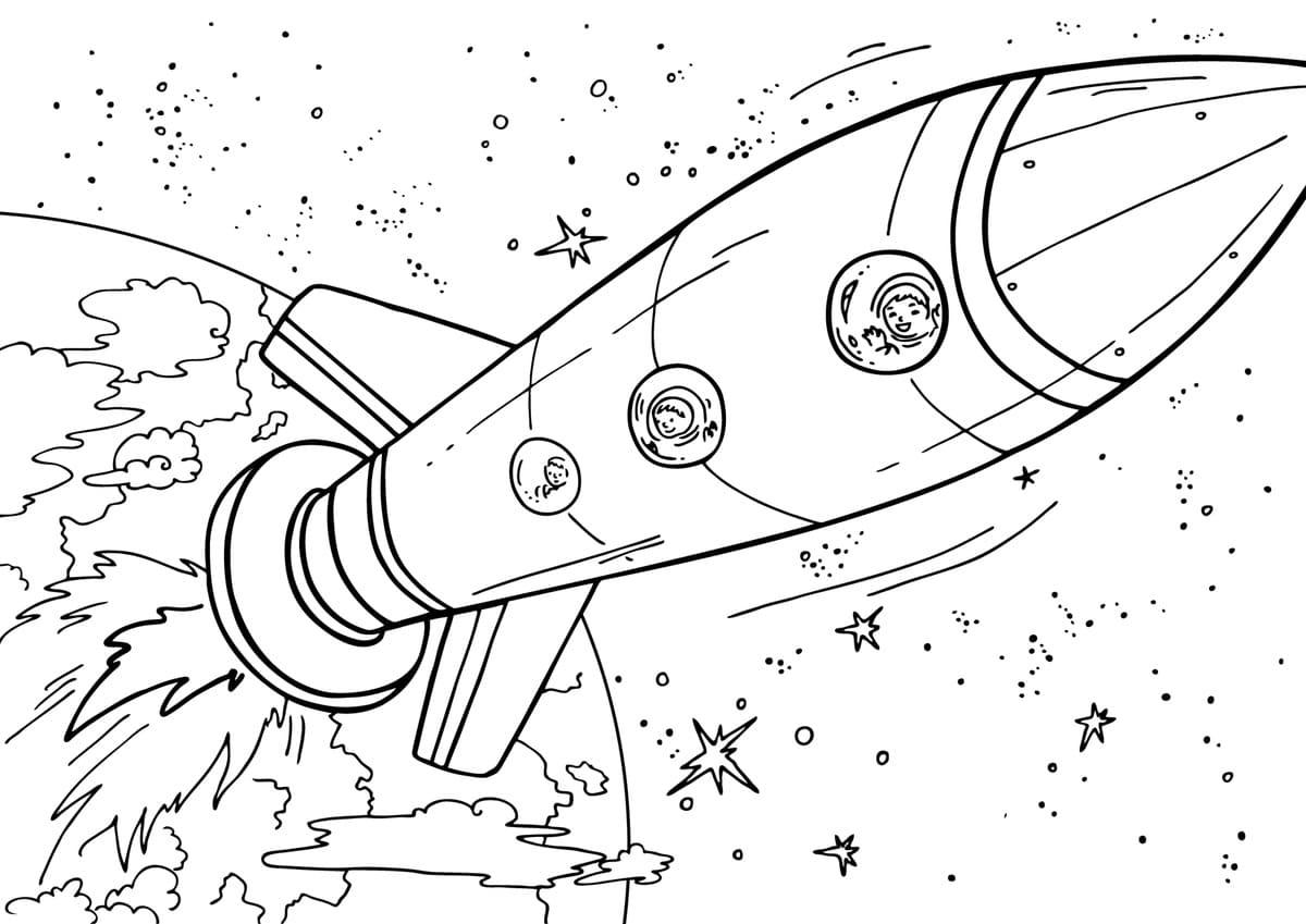 Malvorlagen Weltraum - kinderbilderdownload