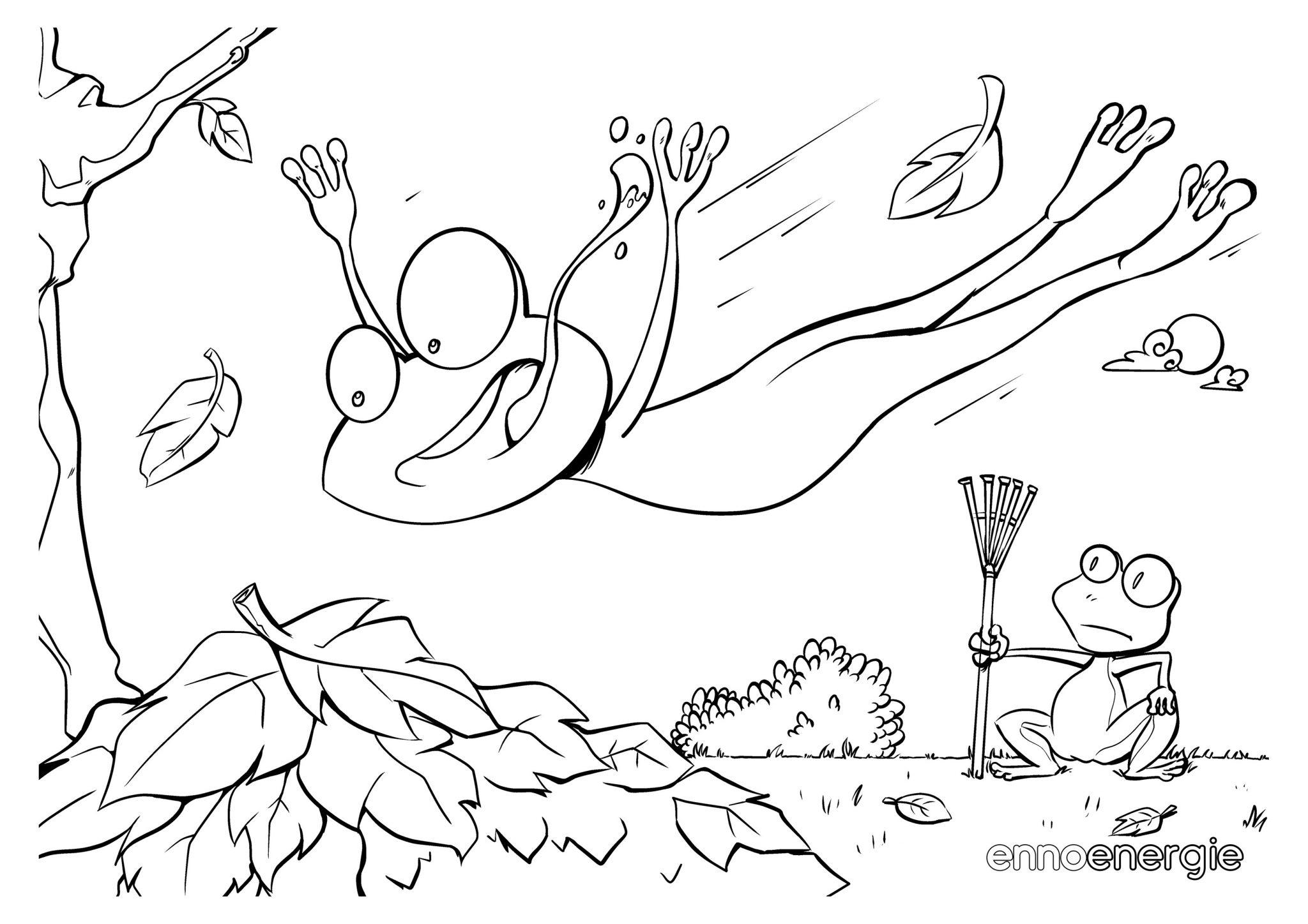 Frosch Malvorlage - kinderbilderdownload kinderbilder